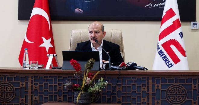 İçişleri Bakanı Soylu: İstanbulda 155e yapılan çağrılarda intikal süresi 7,5 dakikaya düştü