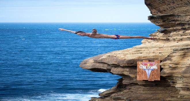 Red Bull Cliff Diving Portekiz'de gerçekleştirildi