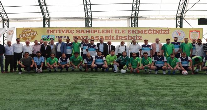 Askıda Ekmek Projesi Futbol Turnuvası