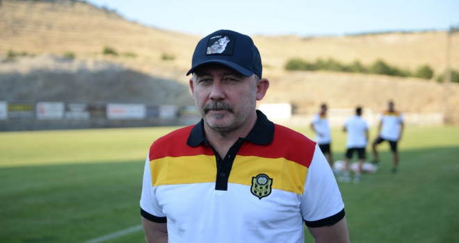 Yeni Malatyaspor teknik direktörü Yalçın: UEFA için şu anda bir hedef koymadık