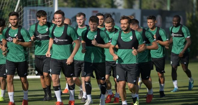 Konyasporda yeni sezon hazırlıkları