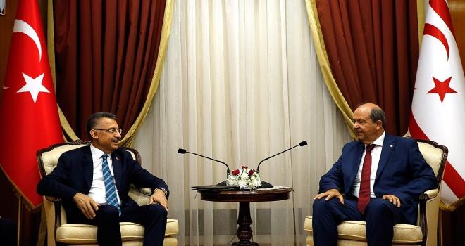 Oktaydan KKTC Başbakanı Tatara ziyaret
