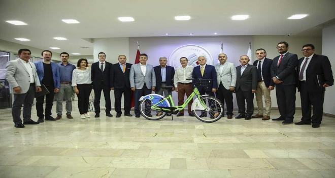 Turistler Eskişehiri bisikletle gezebilecek