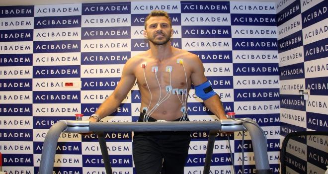 Sivassporda Caner Osmanpaşa sağlık kontrolünden geçirildi