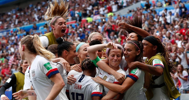 Kadınlar Dünya Kupasını ABD kazandı