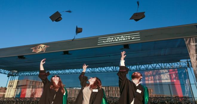 Özyeğin Üniversitesi mezuniyet töreni