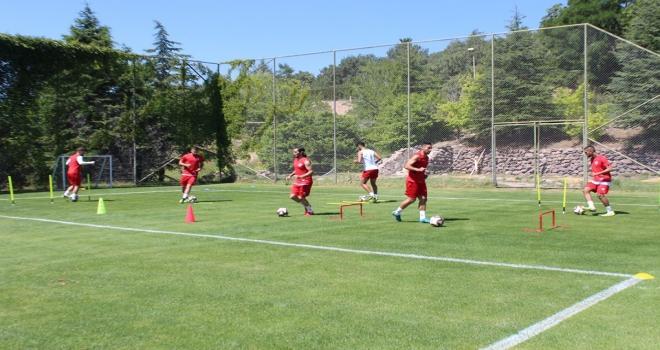 Futbol kamp sezonu Kızılcahamamda başladı