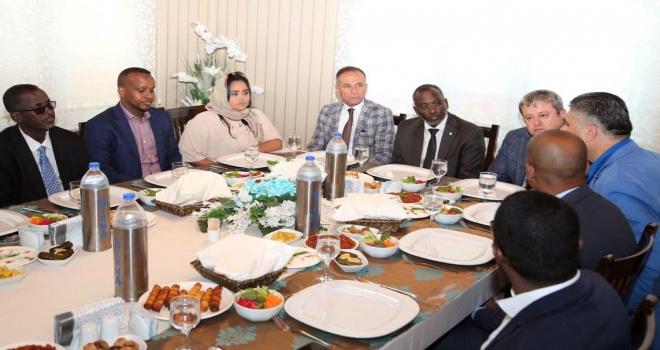 Cibuti Ulusal Meclis Başkanı Hamed Nevşehirde