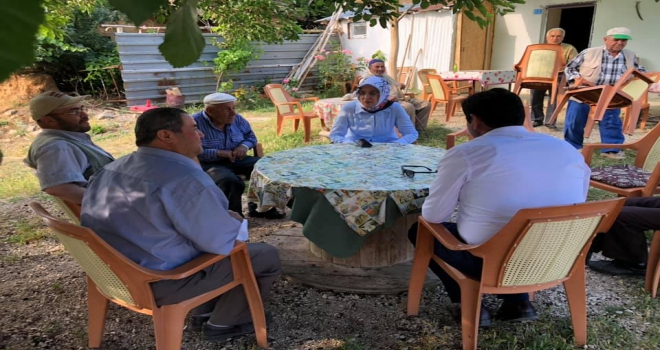 AK Parti Konya Milletvekili Samancının Hüyük ziyareti