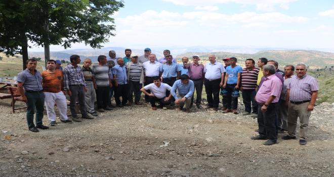 Milletvekili Recep Şekerin köy ziyaretleri