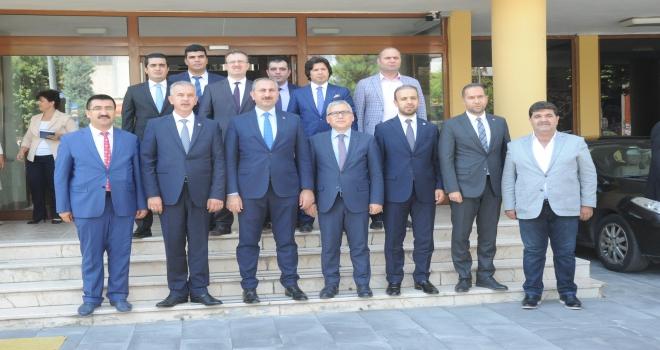 Adalet Bakanı Gül, Niğdede