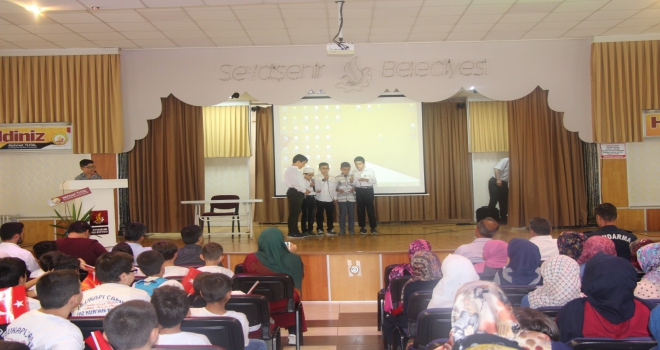 Yaz Kuran kurslarında 15 Temmuz Programı
