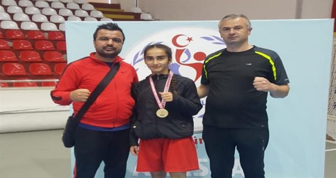 Kırşehirli sporcu Türkiye şampiyonu oldu