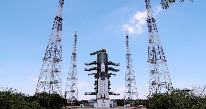 Hindistan, Chandrayaan2yi uzaya gönderdi