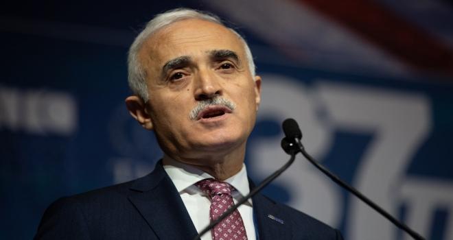 Özbekistanla ticaret hacmimizi 5 milyar dolara taşıyacağımıza inanıyorum