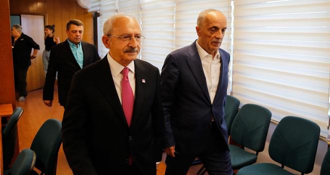 Kılıçdaroğlu Türkİşi ziyaret etti