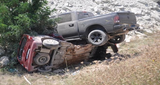 Nevşehirde trafik kazası: 2 ölü, 3 yaralı