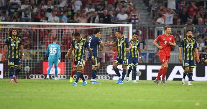 Fenerbahçe, Audi Kupasında Bayern Münihe yenildi