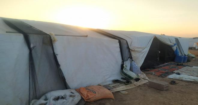 Konyada 2,5 yaşındaki çocuk çadırda ölü bulundu