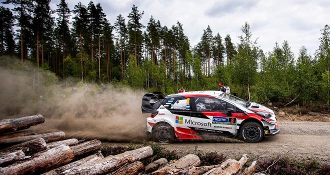 Finlandiya Rallisini Tanak kazandı