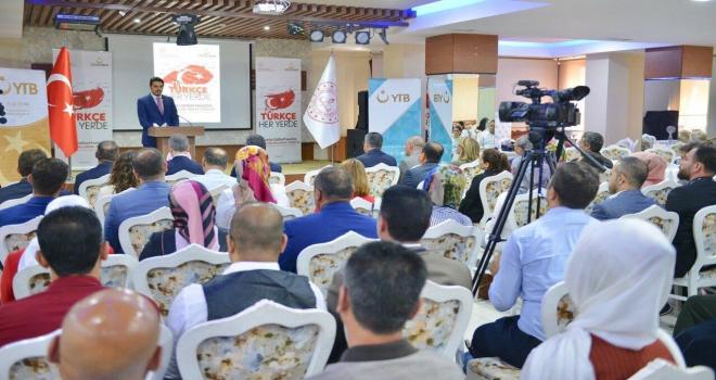 YTBden Iraklı Türkmen öğretmenlere mesleki eğitim programı