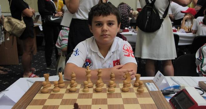 8 yaşında 8de 8 yaparak Avrupa şampiyonu oldu