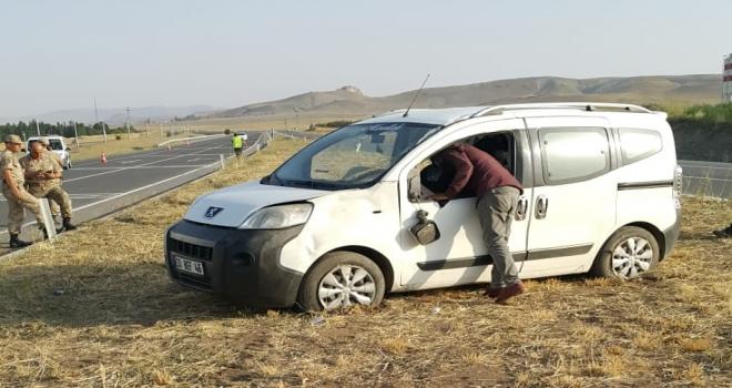 Sivasta trafik kazası: 7 yaralı