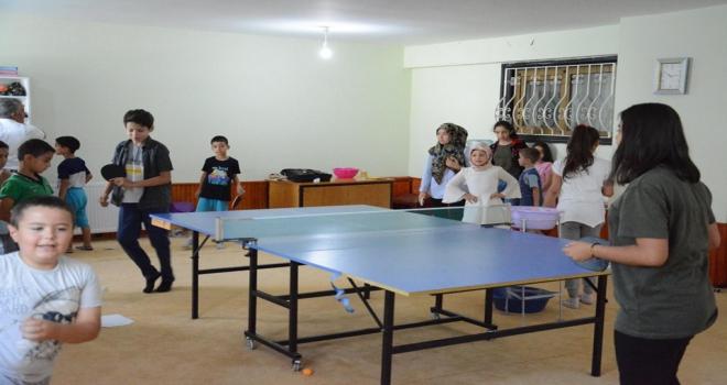 Kırşehirde yaz spor okulları
