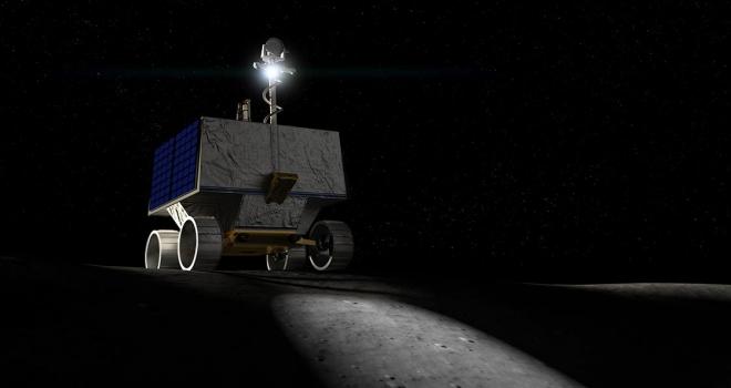 NASA Ayın güney kutbuna su arama robotu gönderiyor