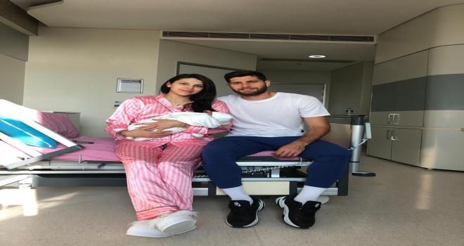 Sivassporlu Cem Özdemir baba oldu