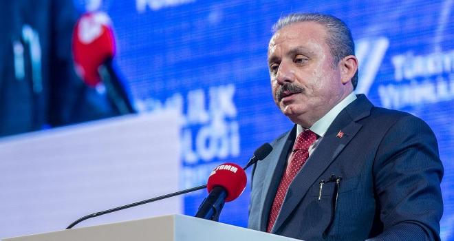TBMM Başkanı Şentop: İsraf ettiğimiz değerlerle her yıl en az 6 İstanbul Havalimanı yapabiliriz