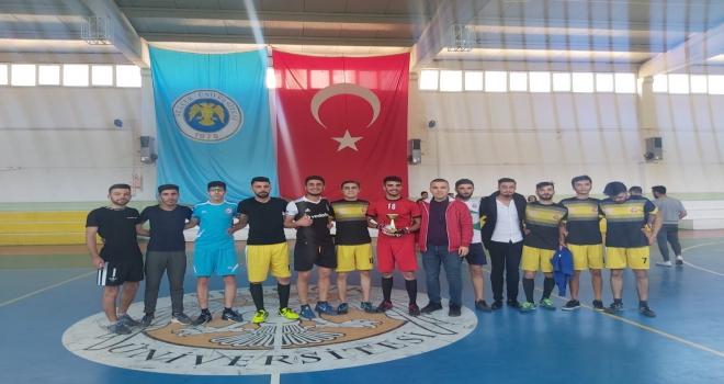 Hadim Meslek Yüksekokulu futbol turnuvası sona erdi