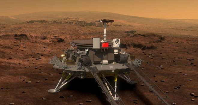 Çin Mars'a iniş testi yaptı