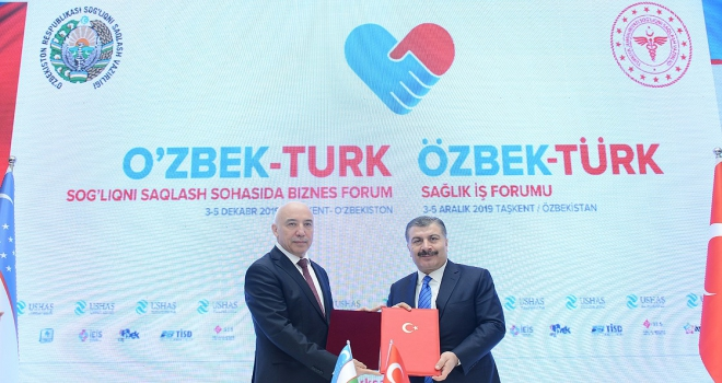 Türkiyeden Özbekistana sağlık yatırımı atağı