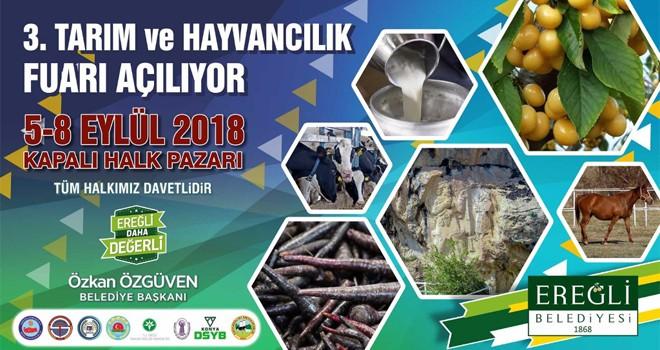 Ereğli'de geleneksel tarım ve hayvancılık fuarı