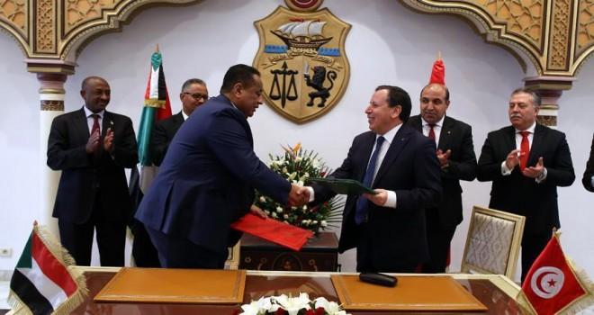 Sudan Dışişleri Bakanı, Tunuslu mevkidaşıyla bölgesel krizlerin çözümünü konuştu