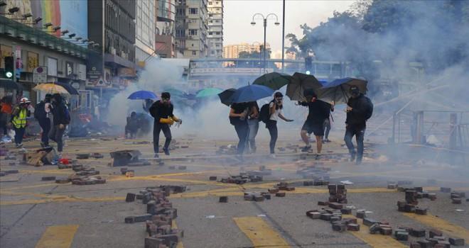 Hong Kong krizinin küresel boyutları kaygılandırıyor