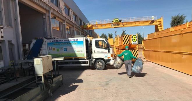 Karatay'dan 'Sıfır atıkProjesi'nde büyük başarı