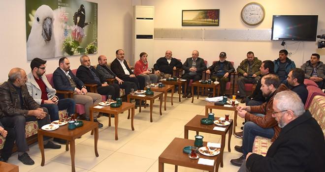 AK Parti Selçuklu'da  mahalle buluşmaları
