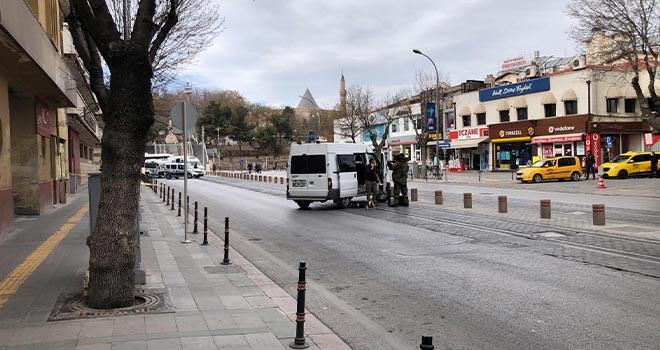 Şüpheli paket Konya polisini alarma geçirdi