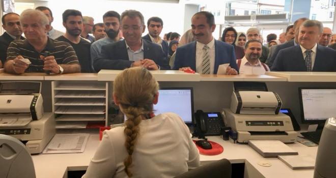Erdoğan içinbağış yaptılar