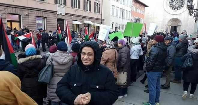 İtalya'da ABD'nin Kudüs kararı protesto edildi