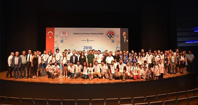 Kulüpler Satranç  Şampiyonası sona erdi