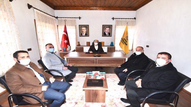 Başkanlık ofisi açıldı