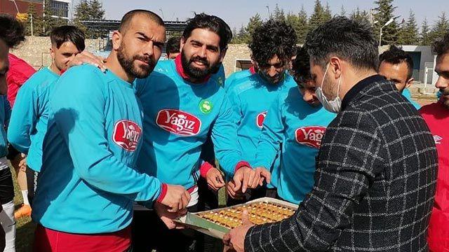 Ereğlispor'a ziyaret