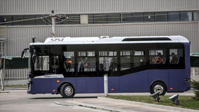 İlk seri üretim sürücüsüz otobüsü Otonom Atak Electric yollara çıkıyor