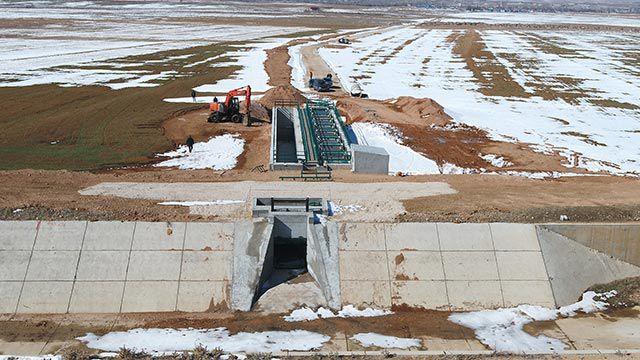 Konya Ovası'nda modern sulama şebekesine kavuşacak
