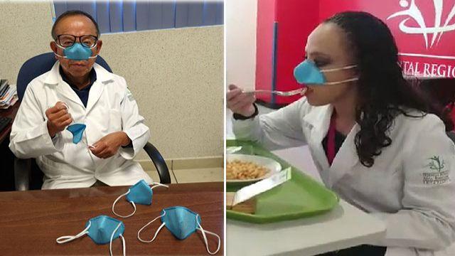 Meksika'da araştırmacılardan koronavirüse karşı 'burun maskesi'