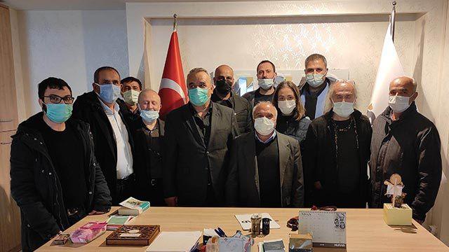 Seydişehir Gazeteciler Cemiyeti Başkanı Ali Saylam, güven tazeledi