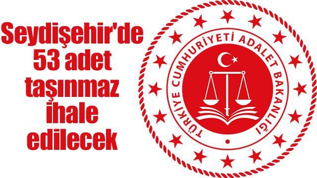 Seydişehir'de 53 adet taşınmaz ihale edilecek